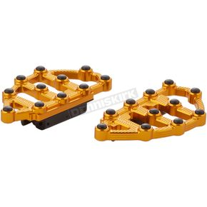 Gold MX Passenger Floorboards - 06-899