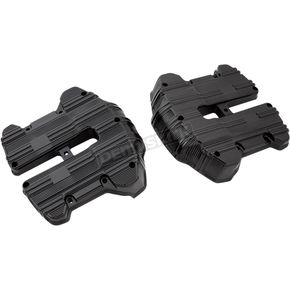 Black 10-Gauge Rocker Box Top Covers - 18-266