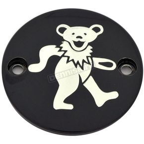 Black Grateful Dead Dancing Bear #2 Timing Cover - GD042-63BG