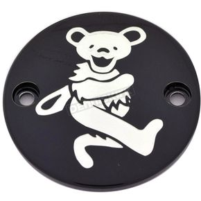Black Grateful Dead Dancing Bear #4 Timing Cover - GD044-63BG