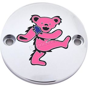 Chrome Grateful Dead Dancing Bear #5 Timing Cover in Full Color - GD045-63FC