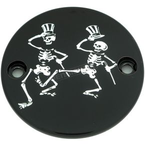 Black Grateful Dead Dancing Skeletons Timing Cover - GD03-63BG