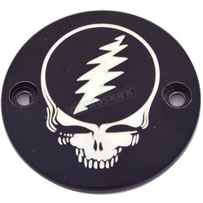 Black Grateful Dead Steal Your Face Timing Cover - GD01-63BG