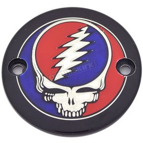 Black Grateful Dead Steal Your Face Timing Cover in Full Color - GD01-63BG FC