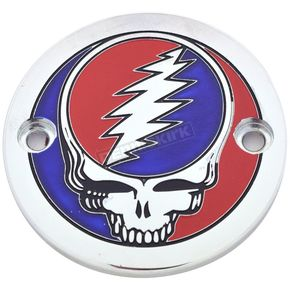 Chrome Grateful Dead Steal Your Face Timing Cover in Full Color - GD01-63FC