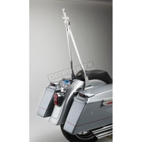 Cycle Visions Black 30 in. Daggertude Wide Sissy Bar Stick - CV-8009B