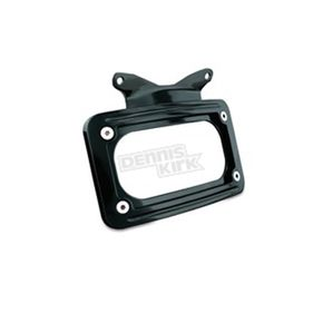 Black Curved License Plate Frame - 3147
