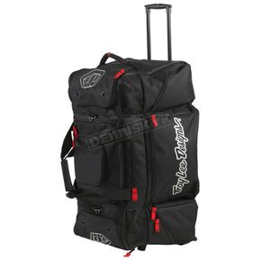Troy Lee Designs Black/White/Red Wheeled SE Gear Bag - 602003200