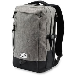 100% Heather Gray Transit Backpack - 01003-007-01
