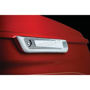 Bahn Chrome Saddlebag Hinge Covers - 6949