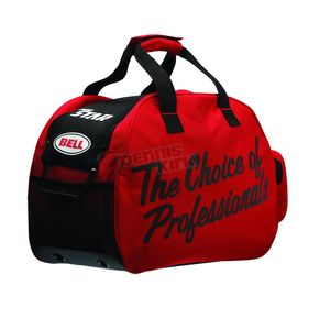 Red/Black Zippered Helmet Bag - 8043613