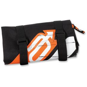 Arctiva Black/Orange Wrap Tool Bag - 3510-0076