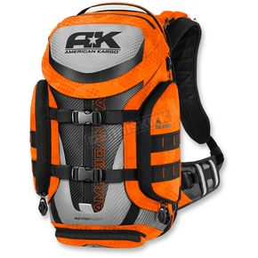American Kargo Hi-Vis Orange Trooper Backpack - 3517-0408