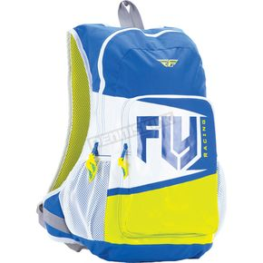 Fly Racing Blue/Lime Jump Pack Bag - 28-5142