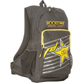 Fly Racing Black/Yellow Rockstar Jump Pack Bag - 28-6000