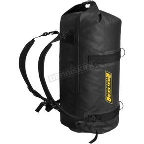 Black 30 Liter Adventure Motorcycle Dry Roll Bag - SE-1030-BLK