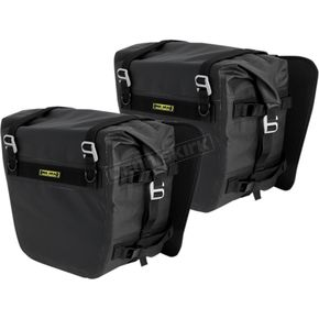 Black Sierra Dry Saddlebags - SE-3050-BLK
