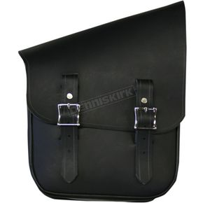 Nash Motorcycle Co. Black/Nickel Half & Half Bag for the Right Side - HHBRBLN