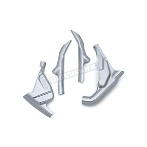 Kuryakyn Chrome Mid-Frame Cover Set - 6997