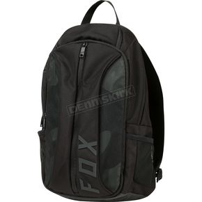 Fox Black Fusion Backpack - 19549-001-OS