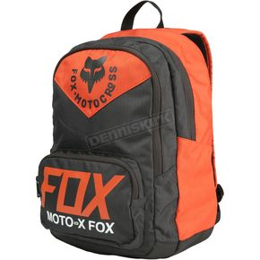 Fox Orange Scramblur Lock Up Backpack - 20770-009-OS