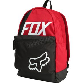 Fox Dark Red Sidecar Kick Stand Backpack - 19551-208-OS