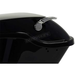 Chrome Saddlebag Lid Levers - HW157802