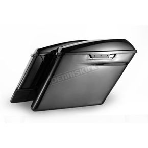 HogWorkz Unpainted 4 in. Stretched Saddlebags - HW151001