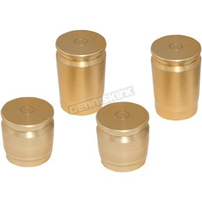 Pro Pad Brass Shell Casing Magnetic Docking Station Caps - DSC-SC-SET