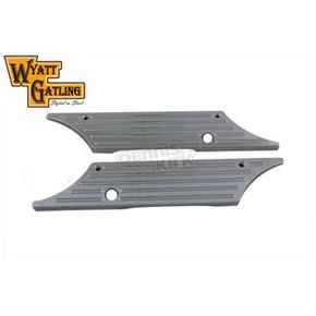Wyatt Gatling Chrome Saddlebag Face Plates - 42-0176
