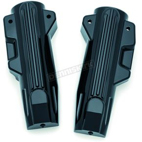 Kuryakyn Gloss Black Lower Fork Covers - 7147