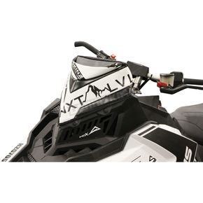 Black/White Next Level Skinz Vented Windshield Pack - NXPWPV225-BK/WHT