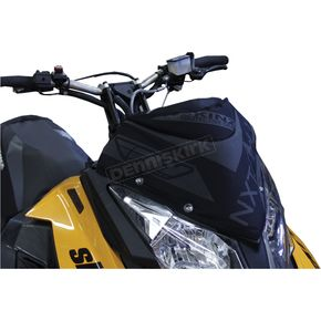 Flat Black Next Level Skinz Windshield Pack - NXSWP400-BK