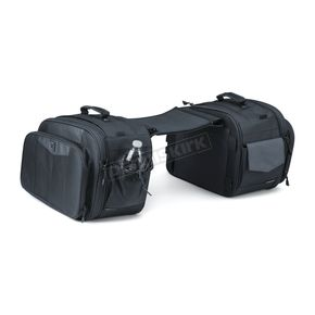 Black Momentum Outrider Throw-Over Saddlebags - 5209