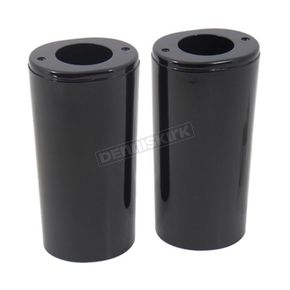 Black Front Fork Slider Cover Set - 36802
