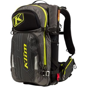 Black/Gray/Lime Krew Pak Backpack - 4012-002-000-330