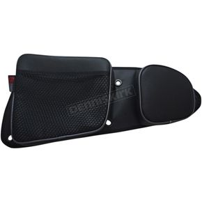 Black/Gray Front Door Bags - RZRDBFTGY