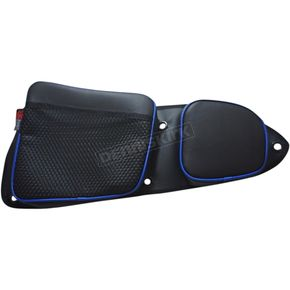 Black/Blue Front Door Bags - RZRDBFTBU