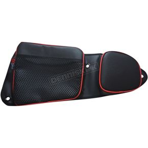 Black/Red Front Door Bags - RZRDBFTRD
