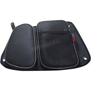 Black/Gray Rear Door Bags - RZRDBRRGY