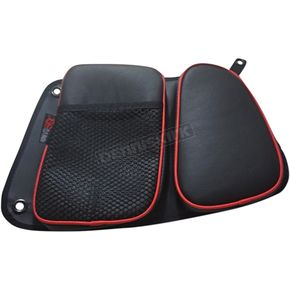 Black/Red Rear Door Bags - RZRDBRRRD