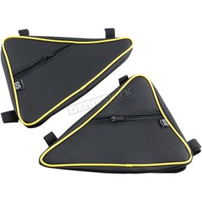 Black/Yellow Door Bags - YXZSBYEL