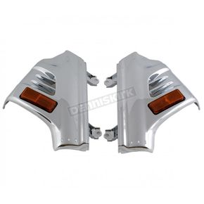 Chrome Fork Covers  - 45-1293