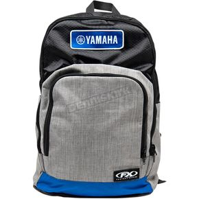 Black/Gray/Blue Yamaha Standard Backpack - 23-89210