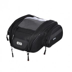 Black 7 Liter F-1 M7 Magnetic Tank Bag - OL440