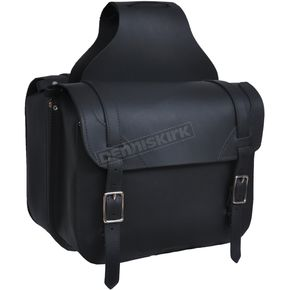 Black Leather Quick Release Saddlebags - 9572.00