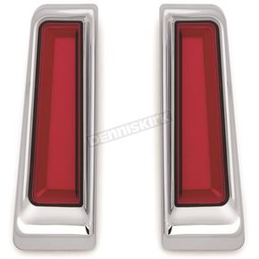 Chrome Tracer LED Inserts for Saddlebag Supports - 2900