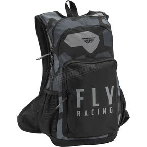 Gray/Black Camo Jump Pack Backpack - 28-5231