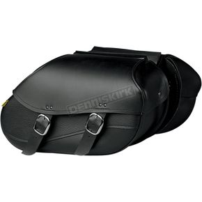 Willie & Max Large Hard-Mount Swooped Revolution Saddlebags - 03436