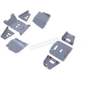 Alloy Full Skid Plate and Front/Rear A-Arm Guard Kit - 2444.7112.2